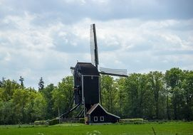 Windmill in the Netherlands