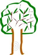 tree drawing marker