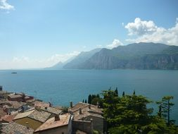 amazing view of lake garda