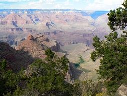 usa grand canyon landscape