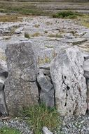 Rocks in a burren