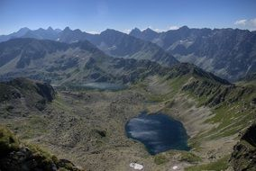 lake in Tatry mountains