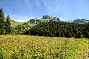 Tatry top view