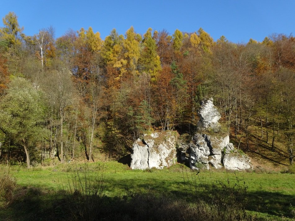 rock formations in Poland