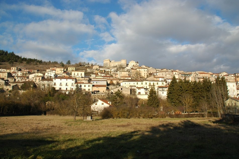 View of Abruzzo in italy