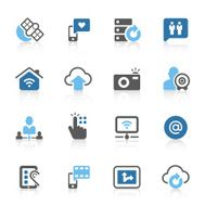 Digital communication icons N2