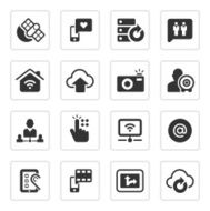 Digital communication icons N3