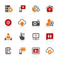 Digital communication icons N4