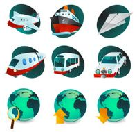 Travel Web Icons N2