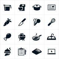 Food Preparation Icons