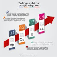 Abstract infographic Vector illustration