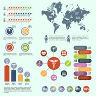 Medical healthcare infographic
