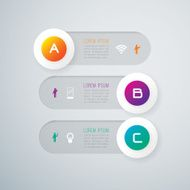 Infographics vector design template N14