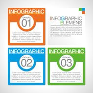 Abstract infographics N49