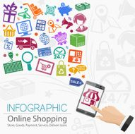 Internet Shopping Infographic N2