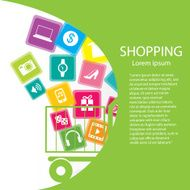 Shopping online concept N2