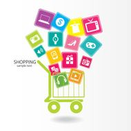 Shopping online concept N5