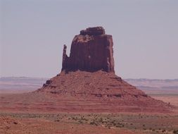 Rock in Monument Valley