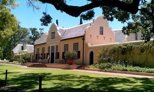 historic winery in South Africa