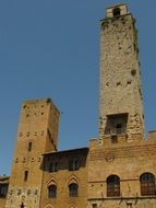 towers san gimignano