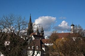 cathedral steeple view ulm