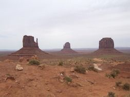 monument valley in United States