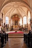 lords table church saint jakob