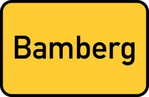 bamberg town sign