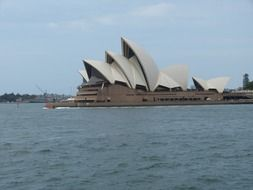 Opera House in Sydney port