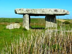 Dolmen is a giant stone table