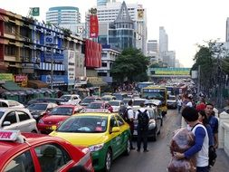 thailand bangkok traffic