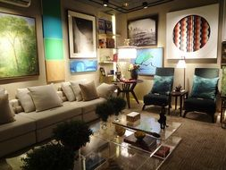 living room with sofa 2015