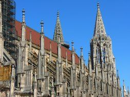 Ulm Minster is a Lutheran church