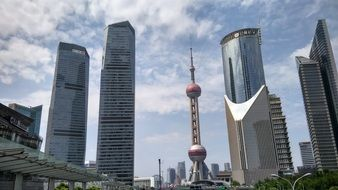 Oriental Pearl TV Tower — The TV Tower in Pudong, Shanghai