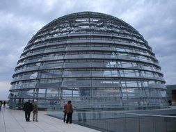 reichstag glass dome in Berlin
