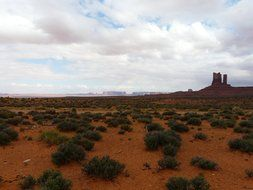 Landscape in Monument Valley