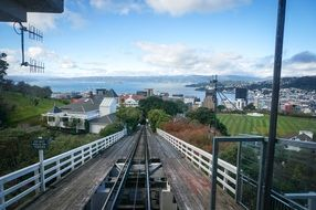 Cableway in New Zealand