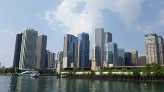 cityscape of Chicago USA