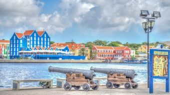 colorful Curacao, Netherlands