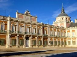 Aranjuez royal palace spain