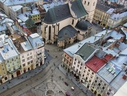 lviv city of ukraine