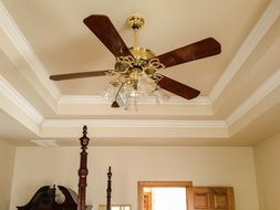 ceiling fan tray