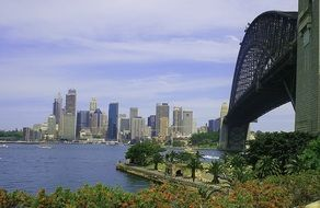 view of Sydney Harbor, Australia