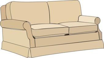 drawn couch