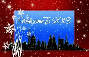 postcard welcome to 2013