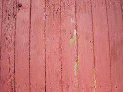 wood paneling red