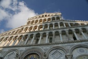 The Pisa cathedral in Italy