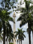 National Monument in Jakarta, Indonesia