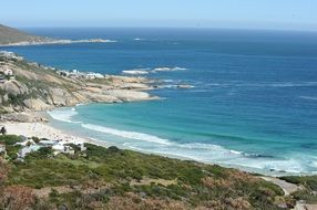 beach cape town landscape