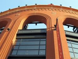 Photo of busch stadium in Saint Louis